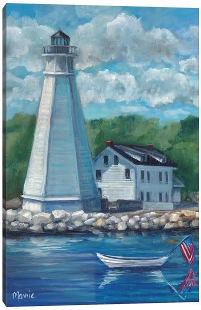 New London Lighthouse Canvas Art Print