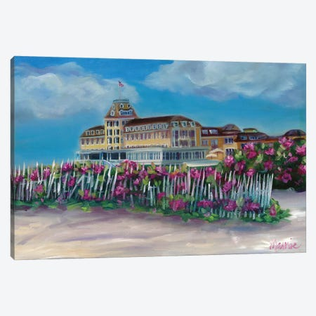 Ocean House Canvas Print #BOU68} by Marnie Bourque Canvas Wall Art