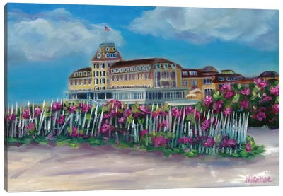 Ocean House Canvas Art Print