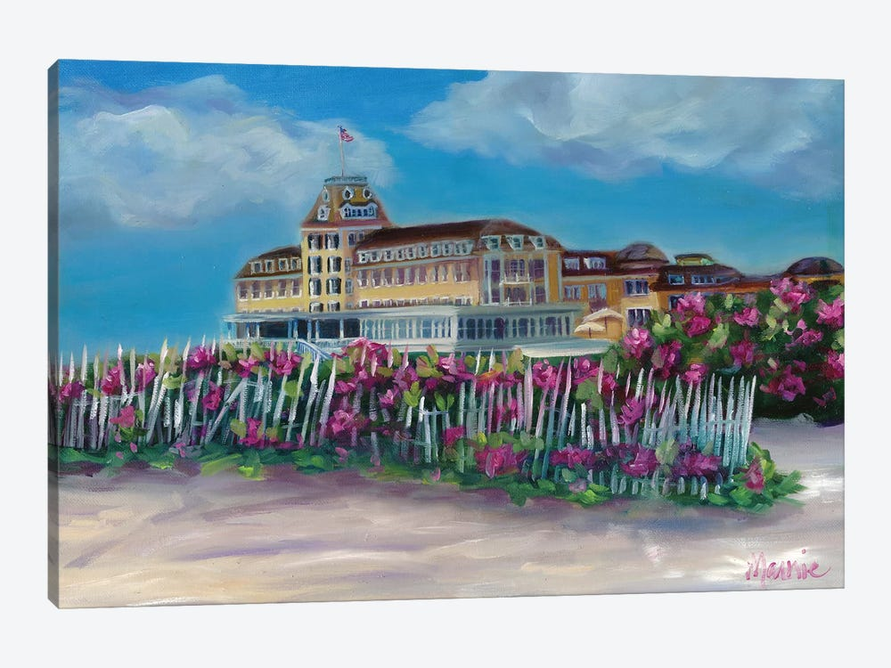 Ocean House by Marnie Bourque 1-piece Canvas Wall Art