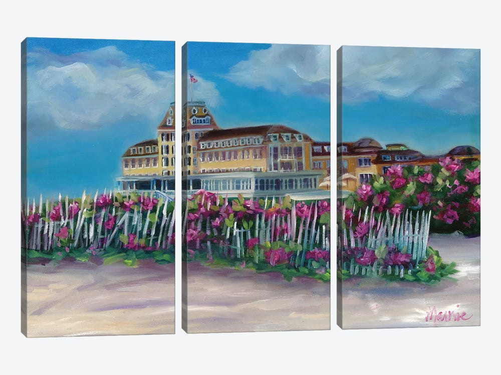 Ocean House by Marnie Bourque 3-piece Canvas Artwork