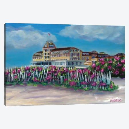 Ocean House Canvas Print #BOU68} by Marnie Bourque Canvas Wall Art