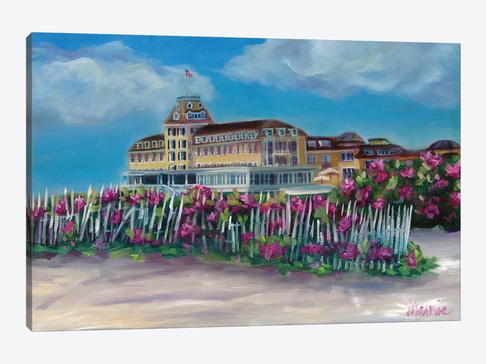 Ocean House by Marnie Bourque 1-piece Canvas Wall Art