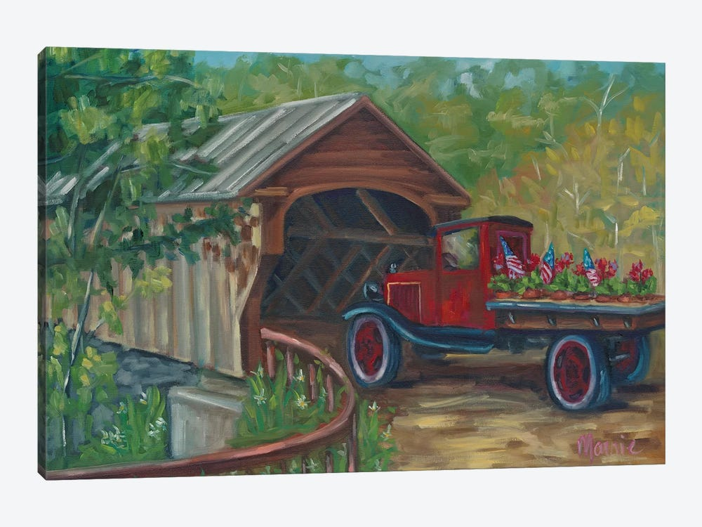 Out For Delivery by Marnie Bourque 1-piece Canvas Wall Art