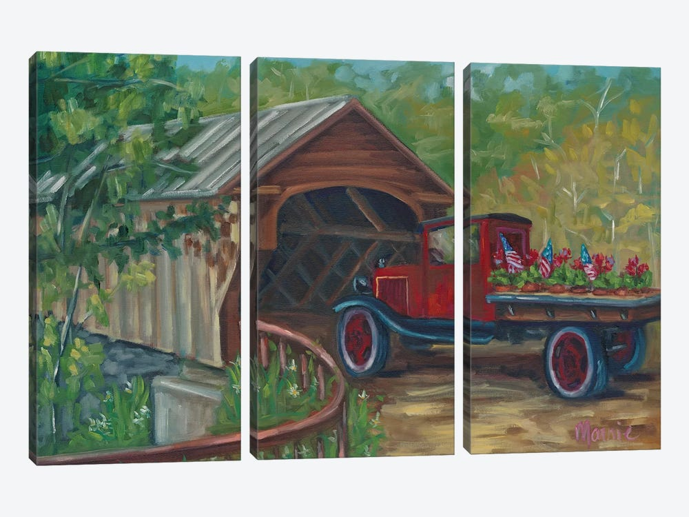 Out For Delivery by Marnie Bourque 3-piece Canvas Artwork