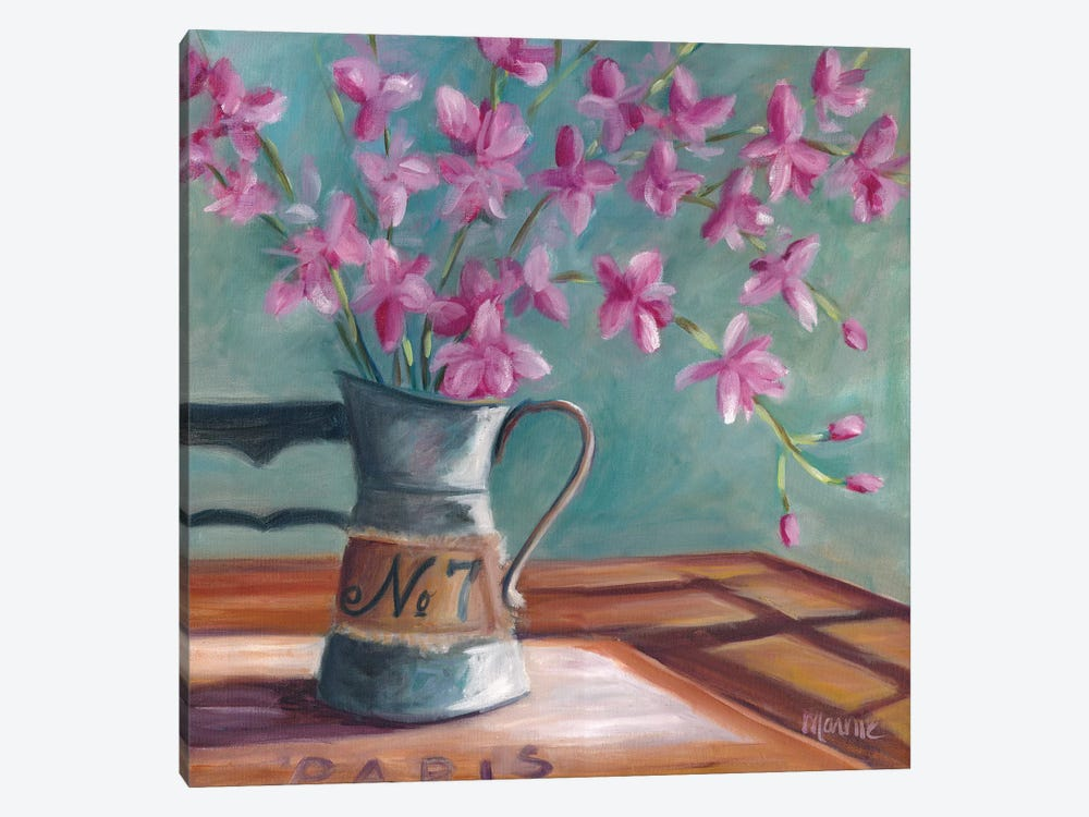 Pitcher Of Spring by Marnie Bourque 1-piece Canvas Art Print