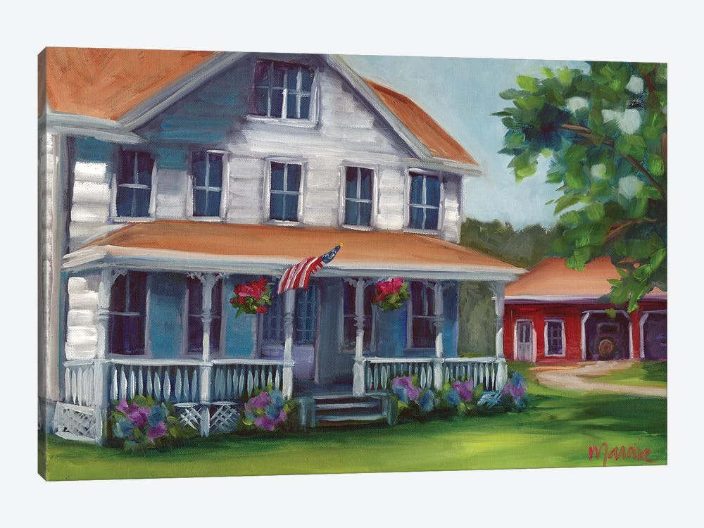 Porch Days by Marnie Bourque 1-piece Canvas Wall Art