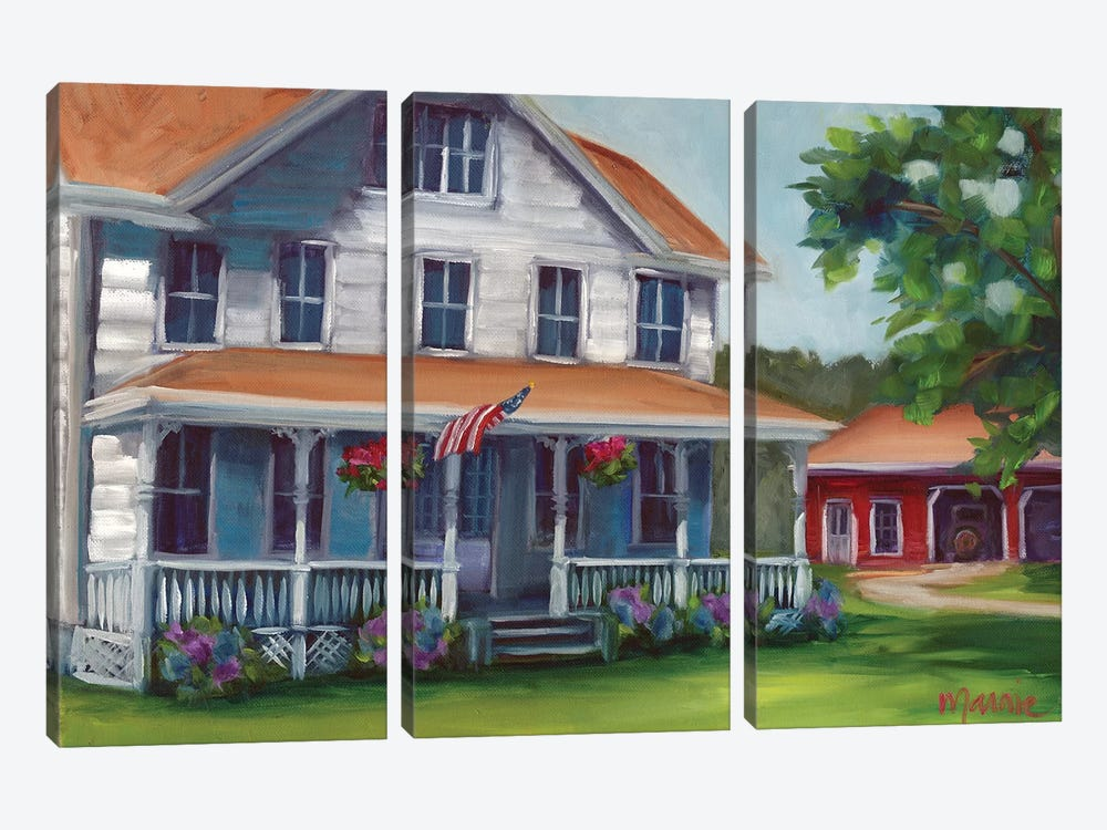Porch Days by Marnie Bourque 3-piece Canvas Artwork