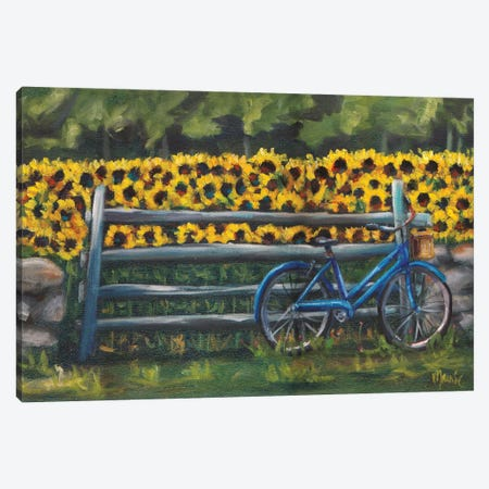 Resting At Buttonwoods Canvas Print #BOU76} by Marnie Bourque Canvas Wall Art