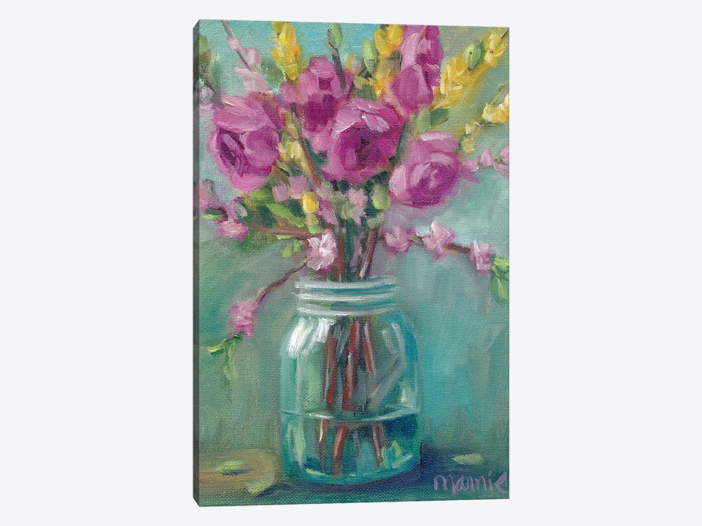 Spring Blossoms I by Marnie Bourque 1-piece Canvas Art Print