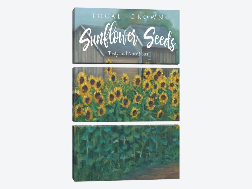 Sunflowers by Marnie Bourque 3-piece Art Print