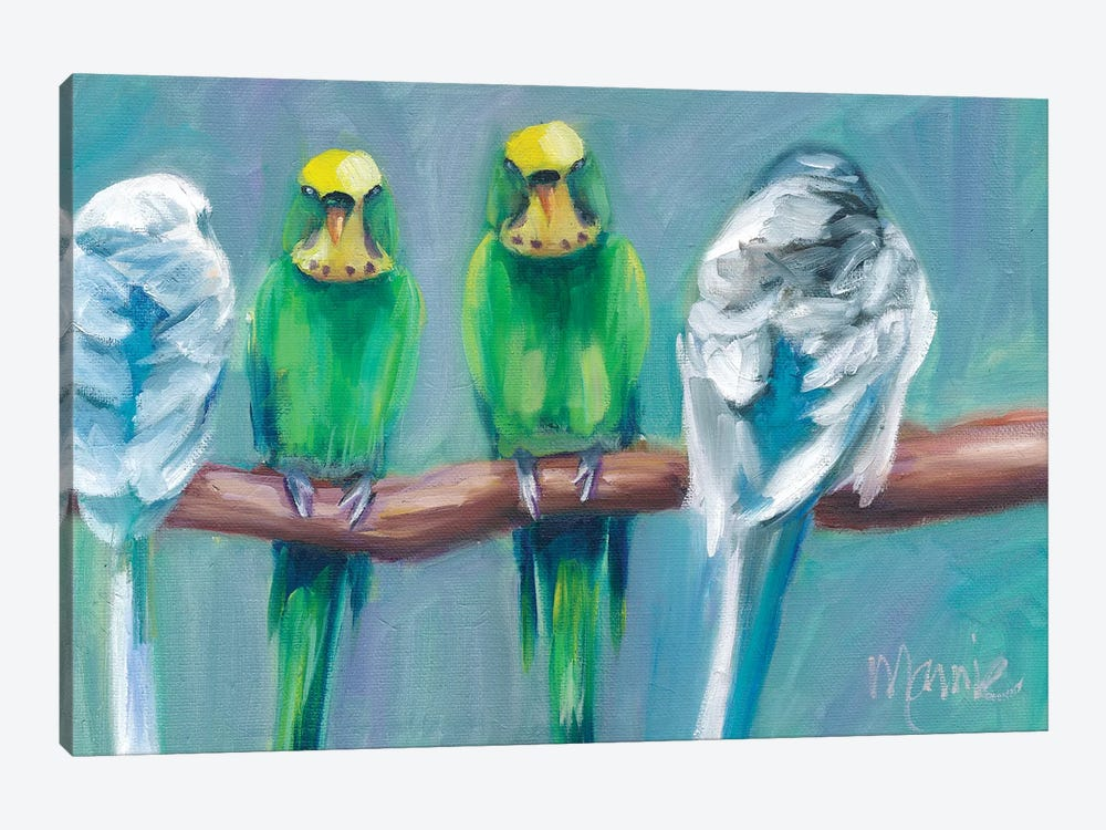 The Conversation by Marnie Bourque 1-piece Canvas Wall Art