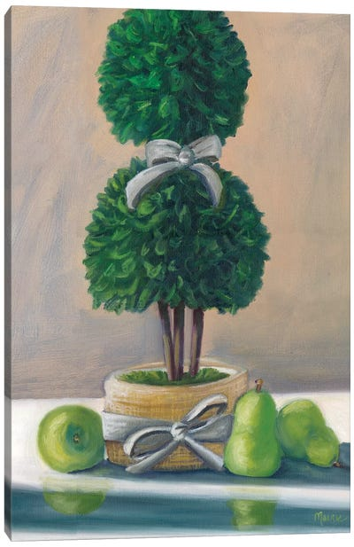 Topiary Canvas Art Print