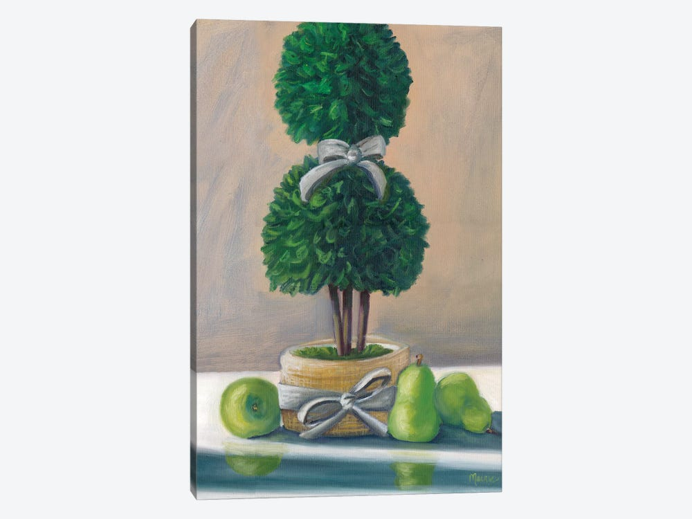 Topiary by Marnie Bourque 1-piece Canvas Art Print