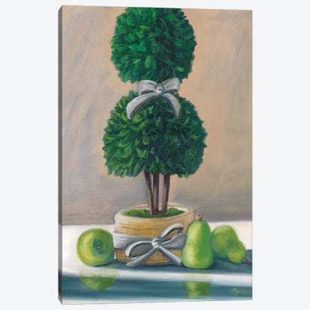 Topiary Canvas Print #BOU89} by Marnie Bourque Canvas Artwork