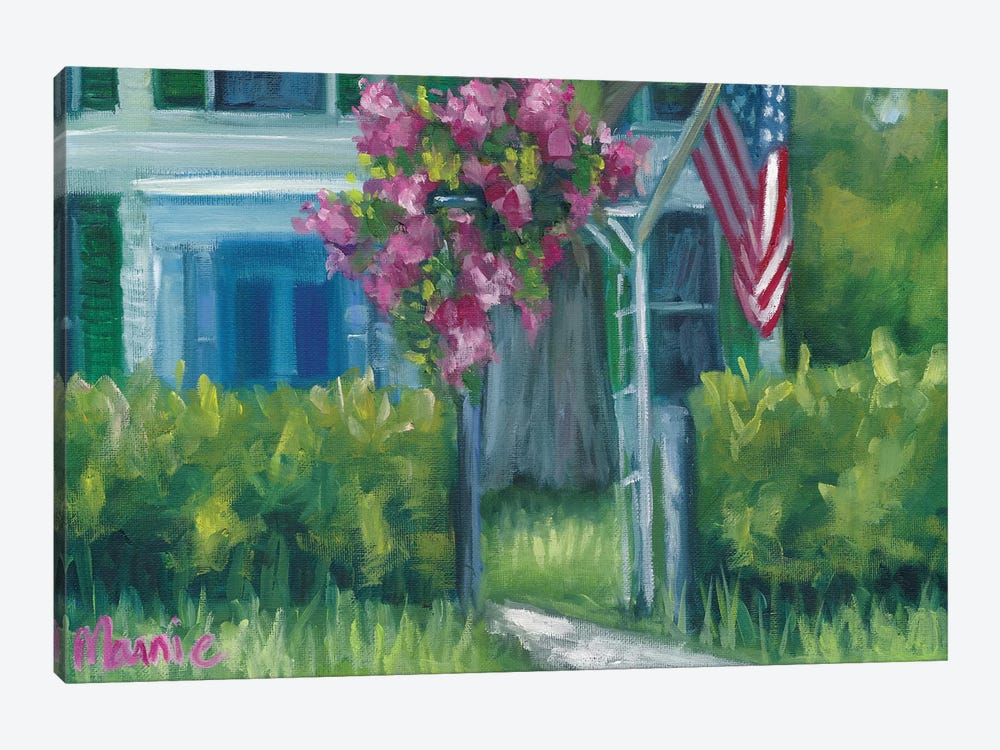 Blooming by Marnie Bourque 1-piece Canvas Wall Art