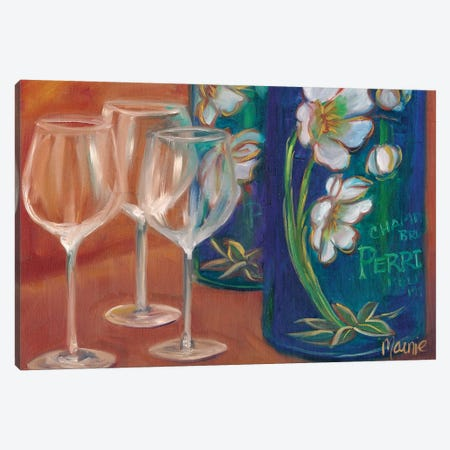 Trio 3-Piece Canvas #BOU95} by Marnie Bourque Canvas Art
