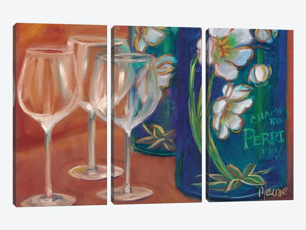 Trio by Marnie Bourque 3-piece Canvas Wall Art