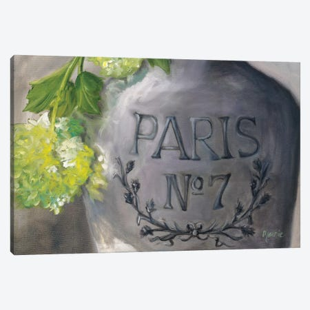Vase Paris Canvas Print #BOU96} by Marnie Bourque Canvas Art