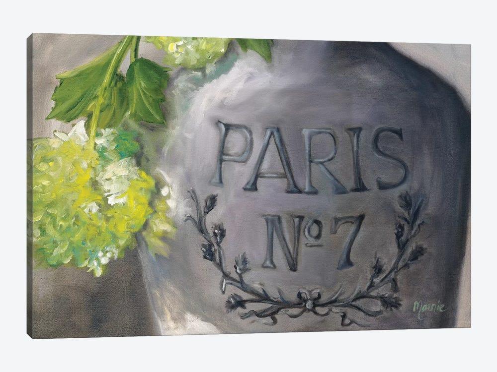 Vase Paris by Marnie Bourque 1-piece Canvas Art Print