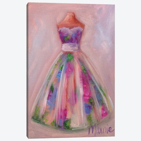 Waiting To Be Worn II 3-Piece Canvas #BOU98} by Marnie Bourque Canvas Print