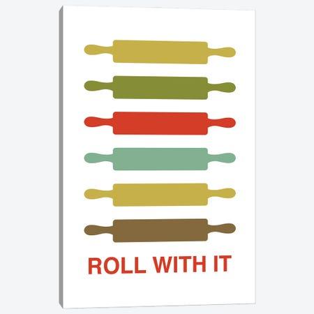 Roll With It Canvas Print #BPP112} by Benton Park Prints Art Print