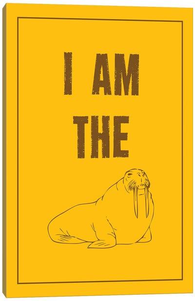 I Am The Walrus Canvas Art Print