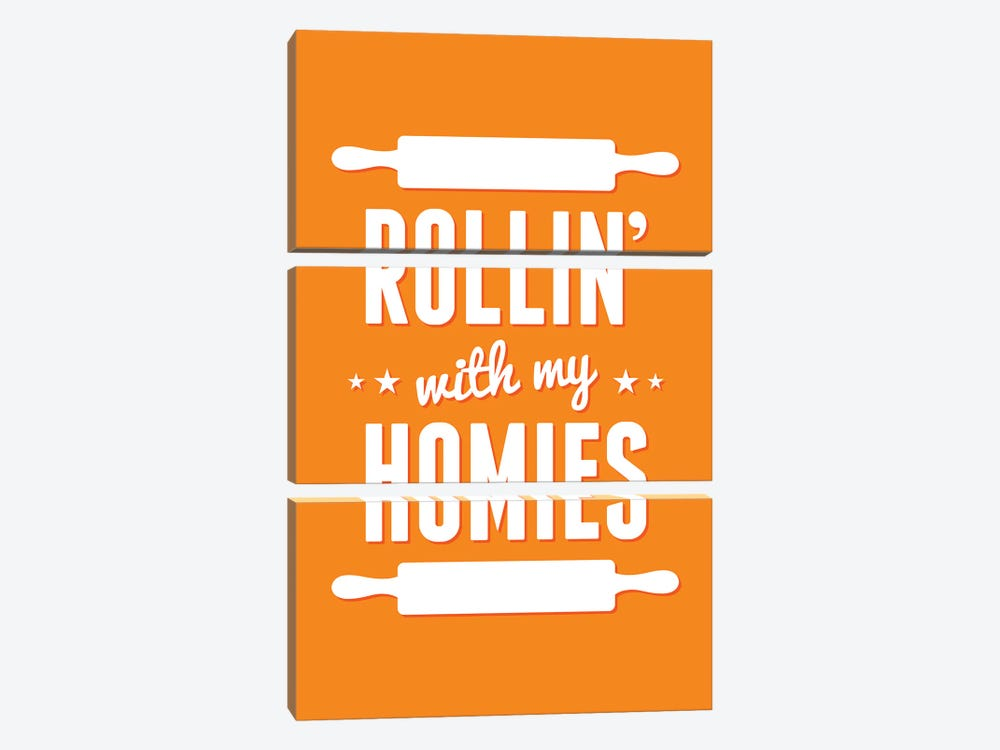 Rollin' With My Homies by Benton Park Prints 3-piece Canvas Wall Art