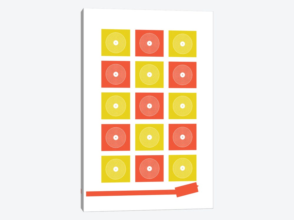 Abstract Record Player by Benton Park Prints 1-piece Art Print