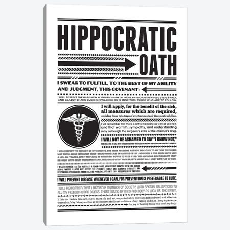 Hippocratic Oath Canvas Print #BPP134} by Benton Park Prints Canvas Art