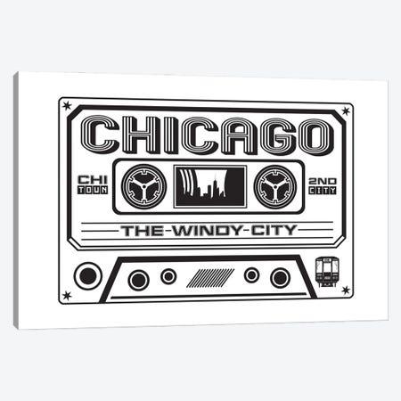 Chicago Cassette Canvas Print #BPP145} by Benton Park Prints Canvas Print