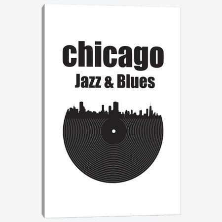 Chicago Jazz & Blues Canvas Print #BPP146} by Benton Park Prints Canvas Print