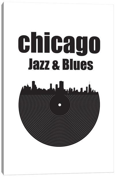 Chicago Jazz & Blues Canvas Art Print