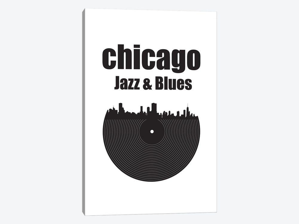 Chicago Jazz & Blues by Benton Park Prints 1-piece Canvas Artwork