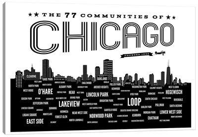 Chicago Communities Canvas Art Print