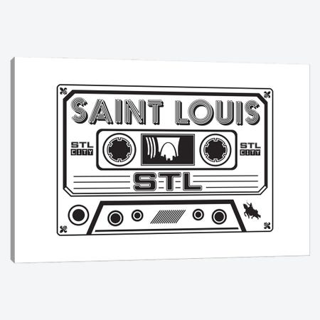 St. Louis Cassette 3-Piece Canvas #BPP157} by Benton Park Prints Canvas Wall Art