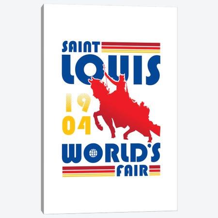St. Louis World's Fair Canvas Print #BPP169} by Benton Park Prints Canvas Artwork