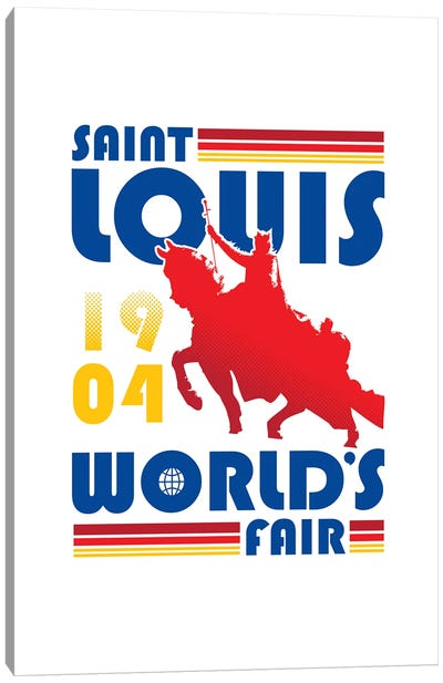 St. Louis World's Fair Canvas Art Print