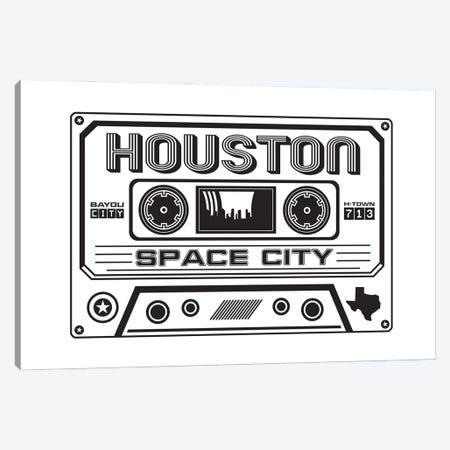 Houston Cassette 3-Piece Canvas #BPP171} by Benton Park Prints Canvas Art Print