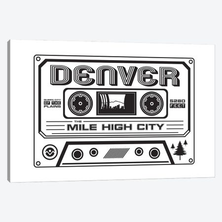 Denver Cassette Canvas Print #BPP176} by Benton Park Prints Canvas Wall Art