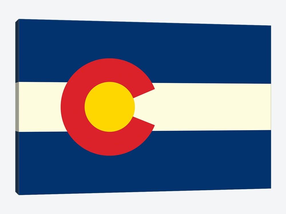 Colorado Flag by Benton Park Prints 1-piece Canvas Art