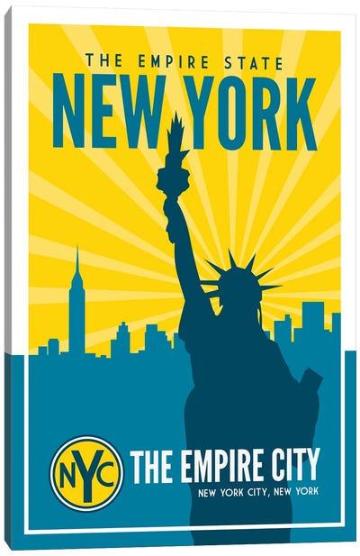New York Empire State Canvas Art Print