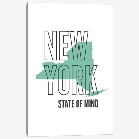 New York State Of Mind Canvas Print #BPP182} by Benton Park Prints Canvas Art