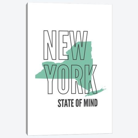 New York State Of Mind Canvas Print #BPP182} by Benton Park Prints Canvas Art