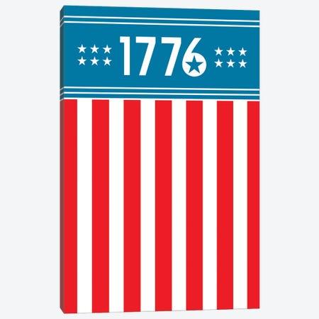 1776 - America Canvas Print #BPP185} by Benton Park Prints Canvas Art Print