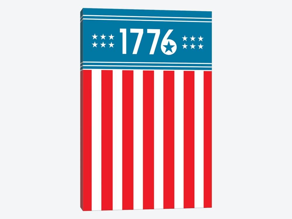1776 - America by Benton Park Prints 1-piece Canvas Art Print
