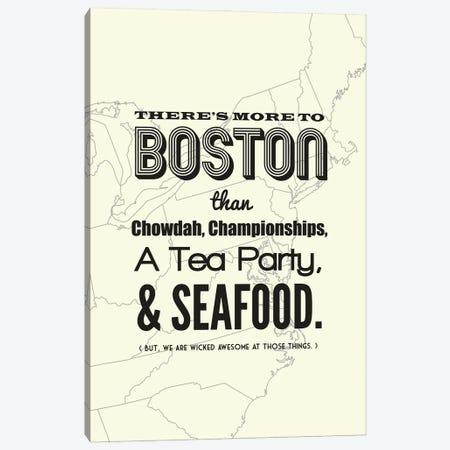 More to Boston - Light Canvas Print #BPP200} by Benton Park Prints Art Print