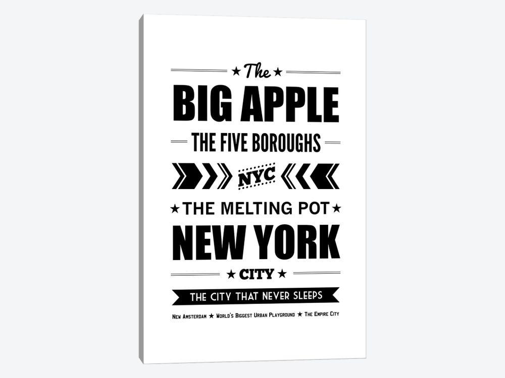 The Big Apple by Benton Park Prints 1-piece Canvas Art