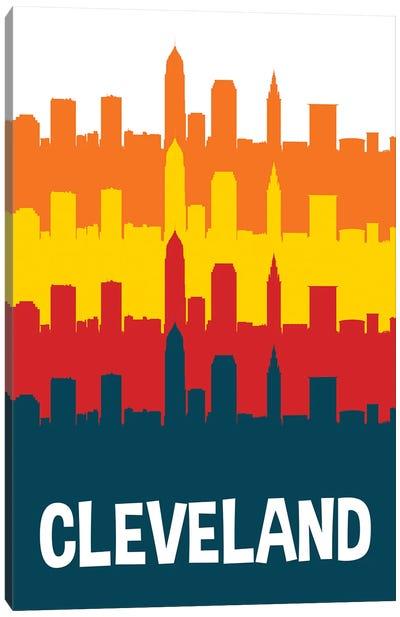 Cleveland Skylines Canvas Art Print