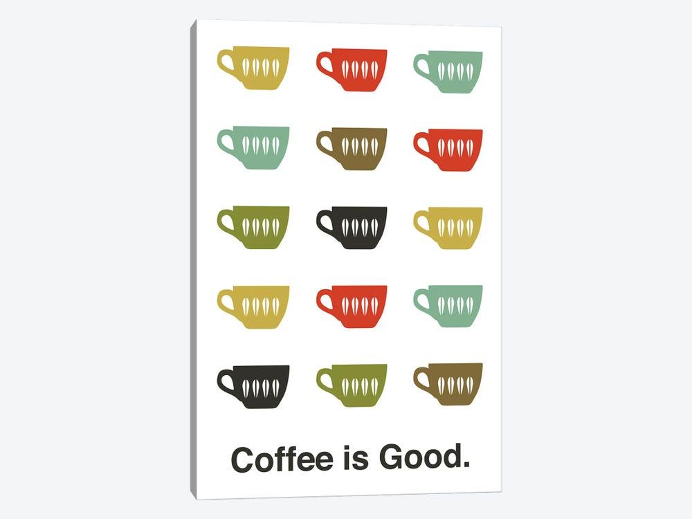 Coffee Is Good by Benton Park Prints 1-piece Canvas Art Print